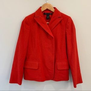 Marc by Marc Jacobs Electric Red Wool Blazer